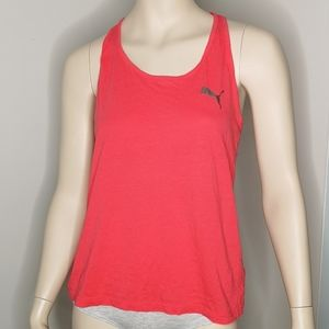 Puma Racer Back Athletic Fitness Gym Tank Top